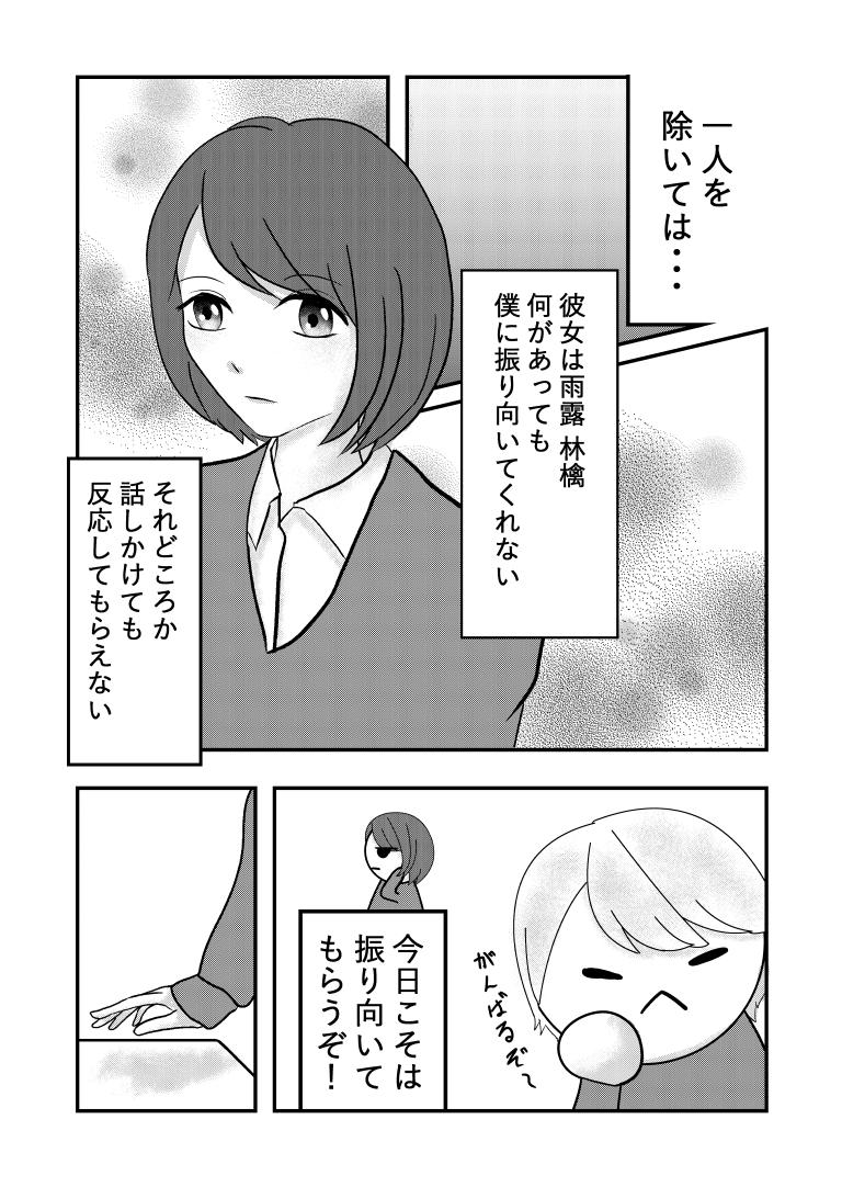 モテ男くんと陰キャちゃんページ2